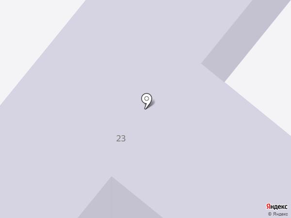 Средняя общеобразовательная школа №11 на карте Старого Оскола