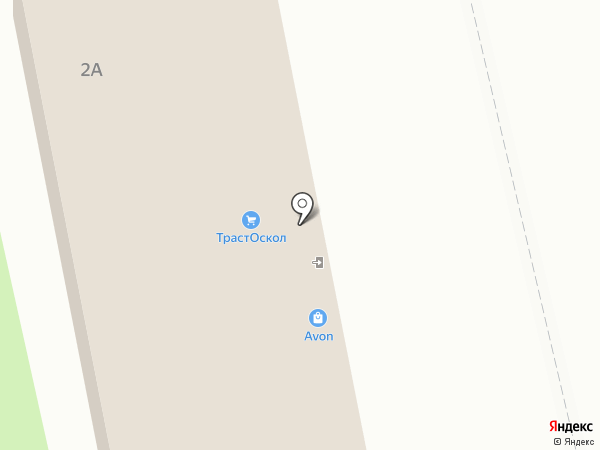 ОПТА-Д на карте Старого Оскола