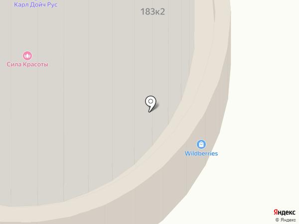Амариллис на карте Москвы