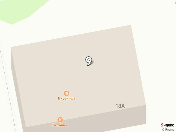 Шпачек на карте Старого Оскола