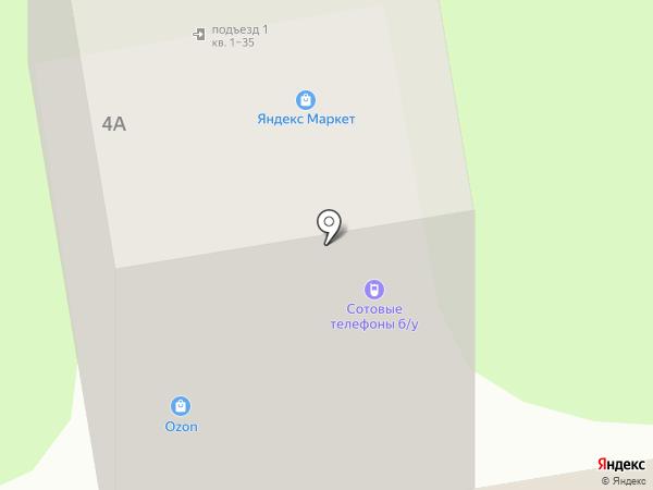 Бэмби эконом на карте Старого Оскола
