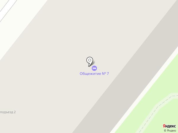 Общежитие №7 на карте Старого Оскола