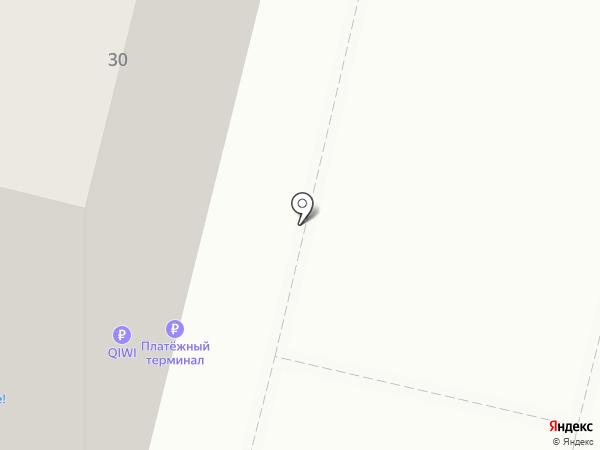 Ярче на карте Москвы