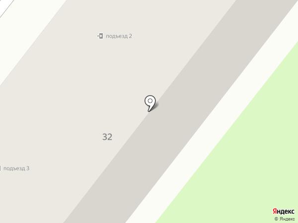 Библиотека №5 на карте Старого Оскола