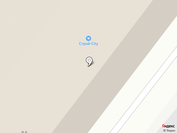 Строй-Сити на карте Старого Оскола