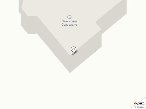 Учинский дворик на карте Пушкино
