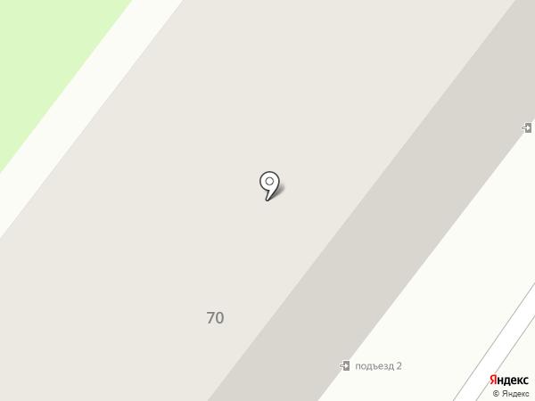 Корсан на карте Старого Оскола