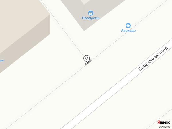 Киоск по продаже хлебобулочных изделий на карте Болохово