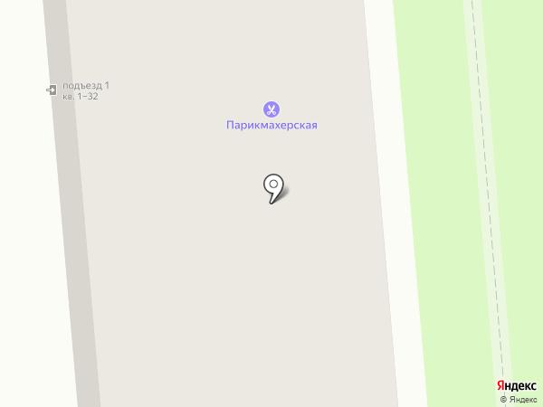 Парикмахерская Святенко И.В. на карте Старого Оскола