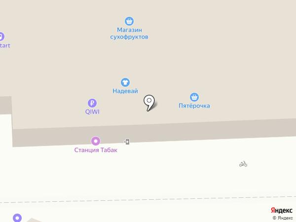 Мой мясной на карте Москвы