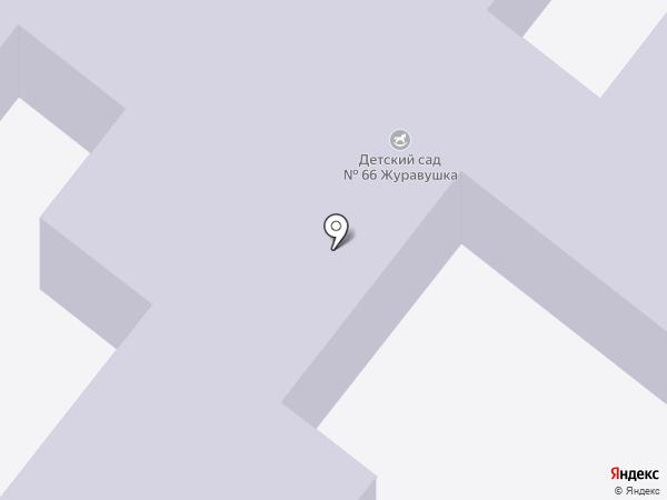 Детский сад №66, Журавушка на карте Старого Оскола