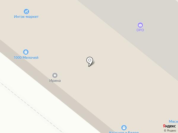 Интэк-маркет на карте Старого Оскола