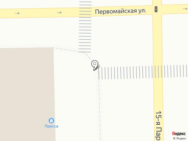 Снегири на карте Москвы