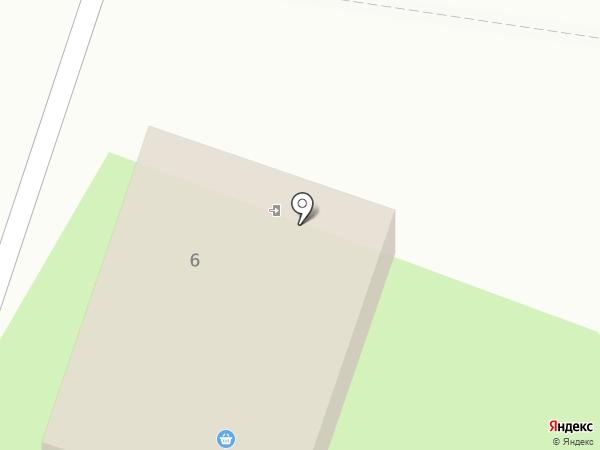 Яблочко на карте Старого Оскола