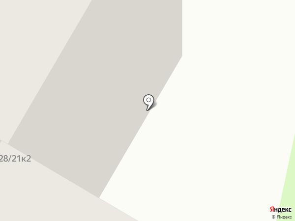 Центральная автошкола Москвы на карте Москвы