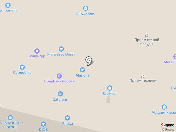Лисичка на карте Москвы