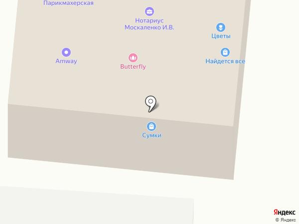 Ивановский текстиль на карте Пушкино