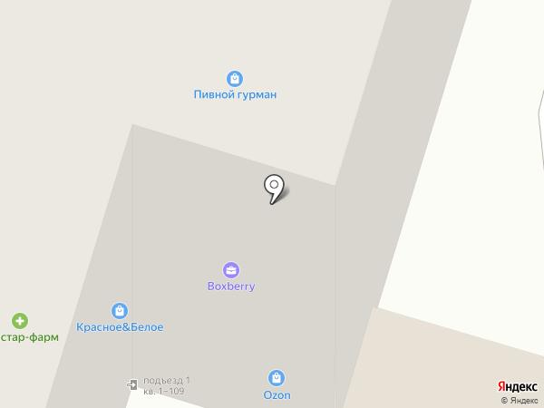 Мастерская по ремонту обуви на ул. Приборостроитель микрорайон, 27 на карте Старого Оскола