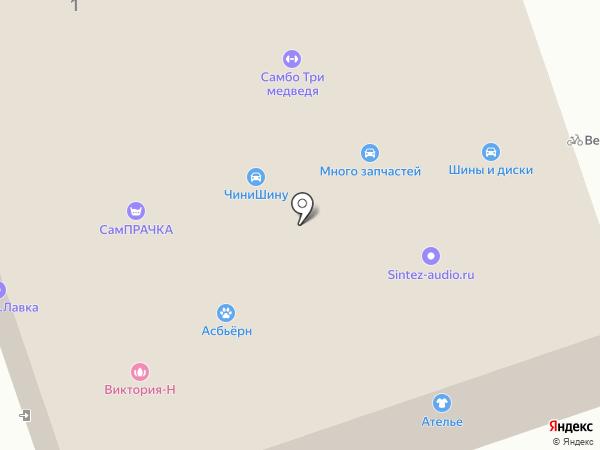 Центр жилья и ипотеки на карте Москвы