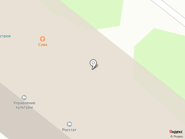 Сова на карте Старого Оскола