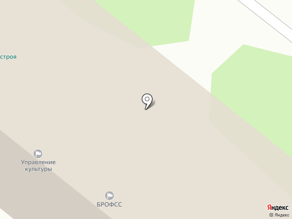 Бегон на карте Старого Оскола