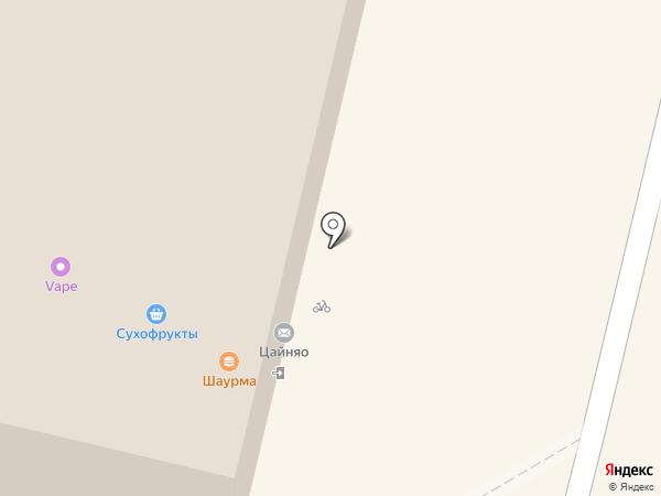 Пододеялком на карте Москвы