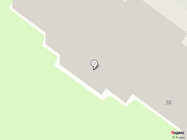Гараж на карте Пушкино