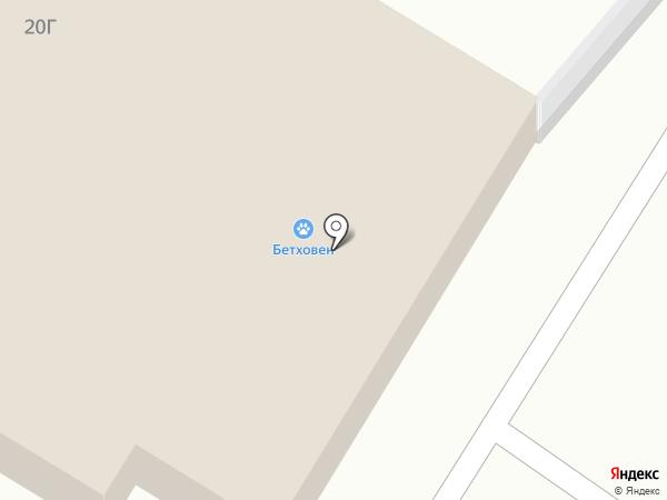 Бетховен на карте Москвы