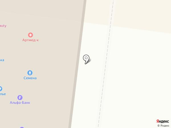 Гюстофф на карте Королёва