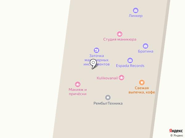 Братина на карте Королёва