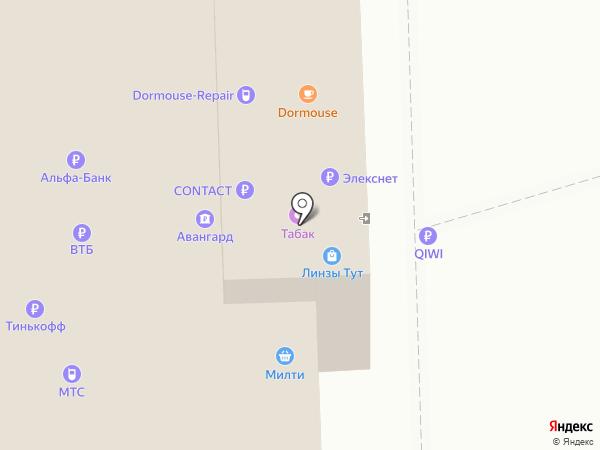 Кредит Пилот на карте Москвы