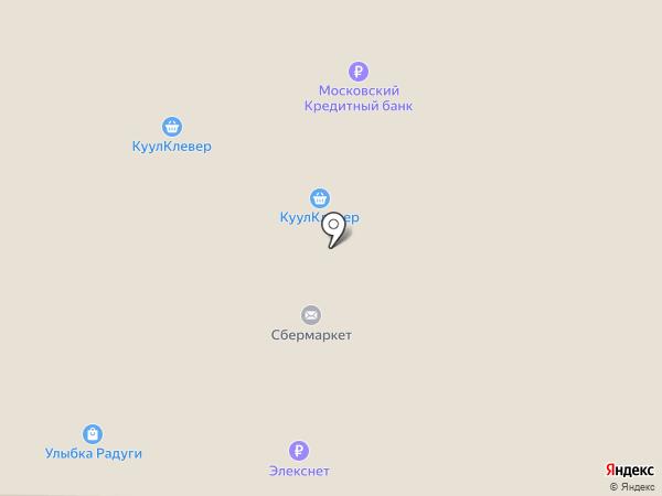 Столетник на карте Москвы