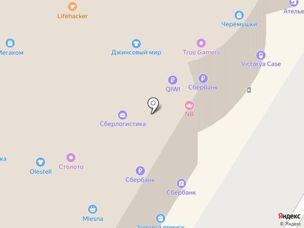 Beauty Line на карте Москвы