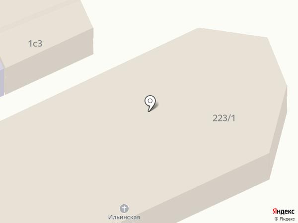 Ильинский храм на карте Старого Оскола
