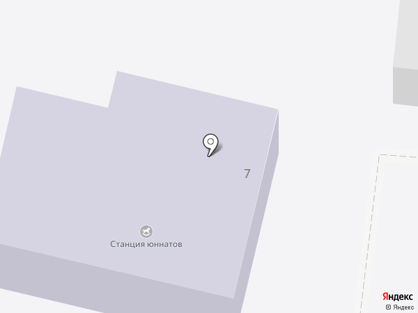 Станция юных натуралистов на карте Старого Оскола