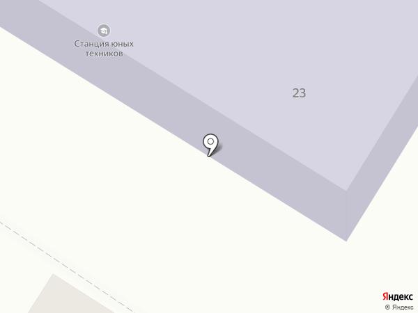 Станция юных техников г. Пушкино на карте Пушкино