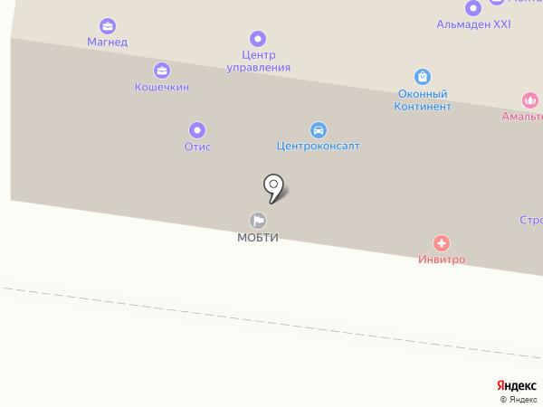 Центр управления на карте Королёва