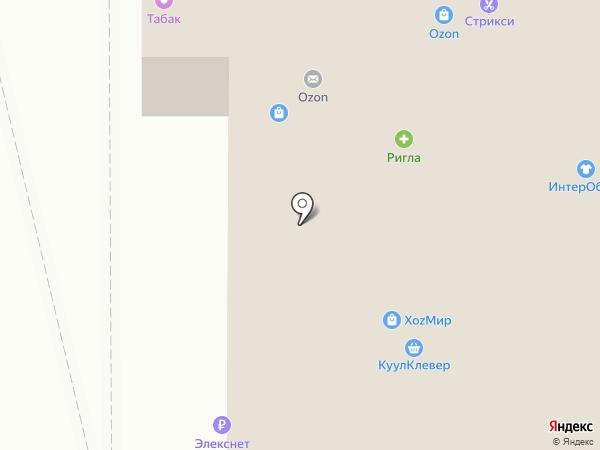 Волна на карте Москвы