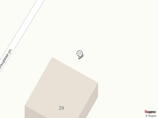 Шиномонтажная мастерская на карте Старого Оскола