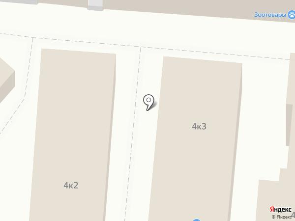 Магазин женского белья на карте Старого Оскола