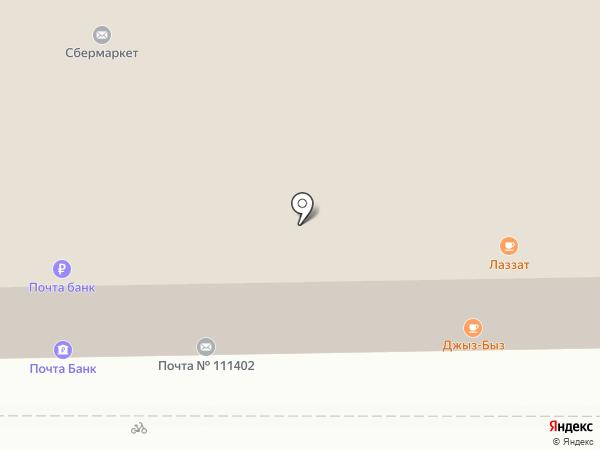 Магазин овощей на карте Москвы
