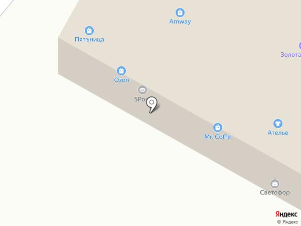 Пятьница на карте Пушкино