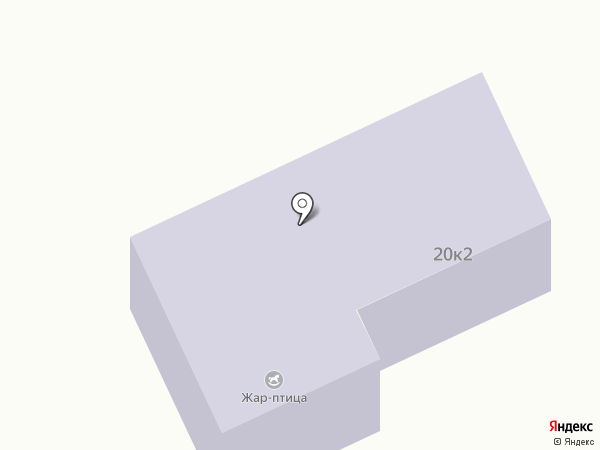 Жар Птица на карте Пушкино