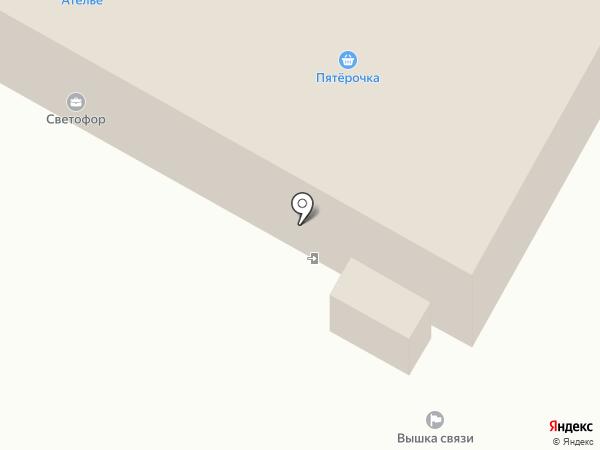 На станции на карте Пушкино