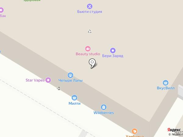 Domino`s Pizza на карте Москвы