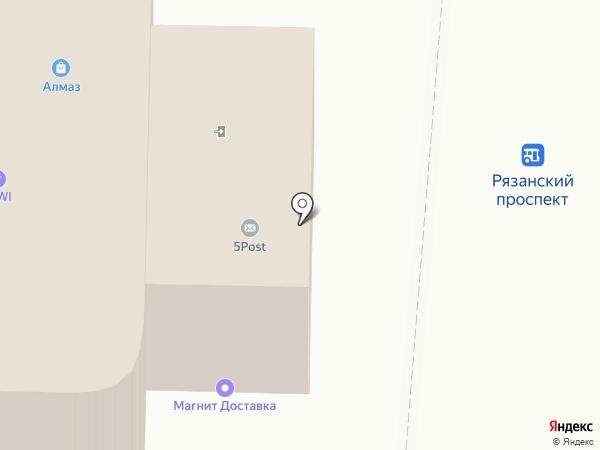 Сервис Тренд на карте Москвы