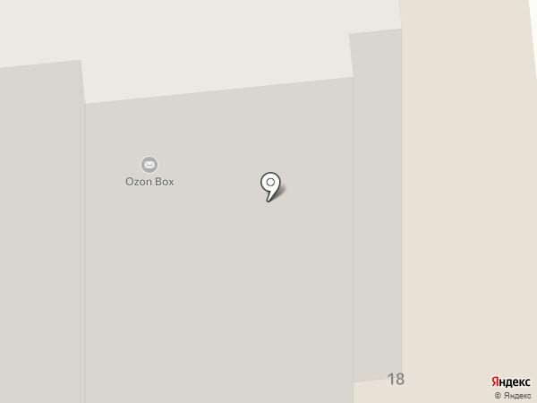 Золотая стрекоза на карте Домодедово