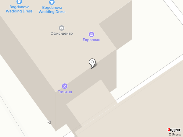 Европлан, ЗАО на карте Старого Оскола