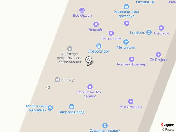 ПРОМСТЕКЛО на карте Москвы