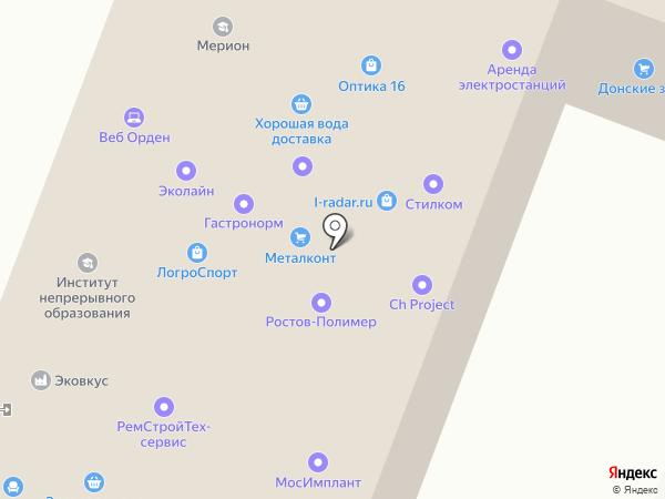 Центр по профессиональной переподготовке на карте Москвы